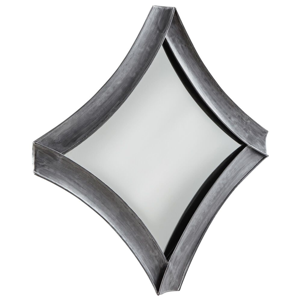 Signature Design by Ashley Posie Accent Mirror in Antique Silver, , large