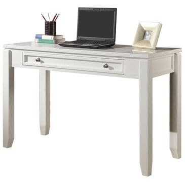 "Simeon Collection Boca 47"" Writing Desk in White, , large"