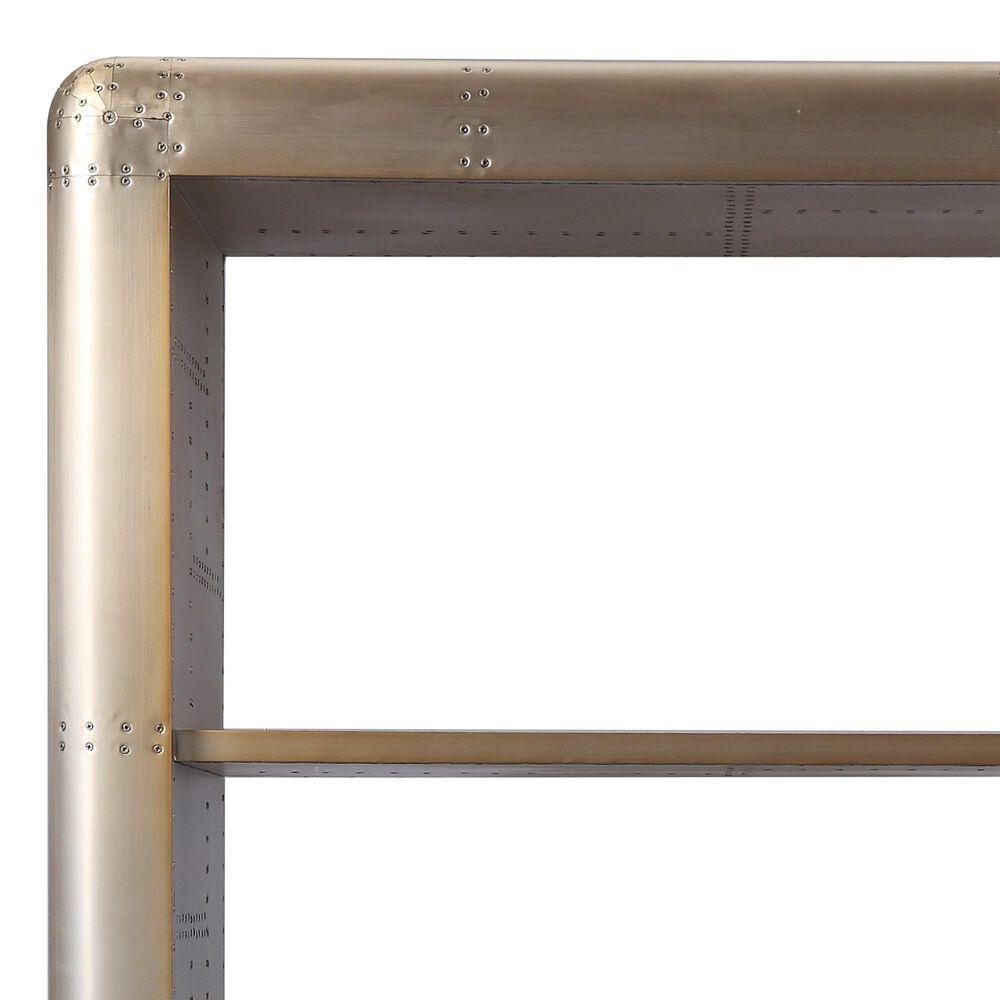 Gunnison Co. Jennavieve Bookcase in Gold Aluminum, , large