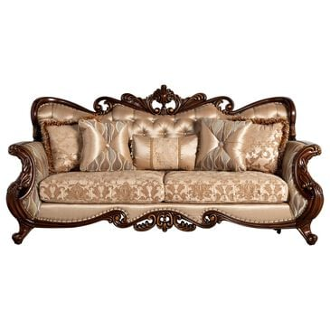 New Heritage Design Constantine Sofa in Tan, , large