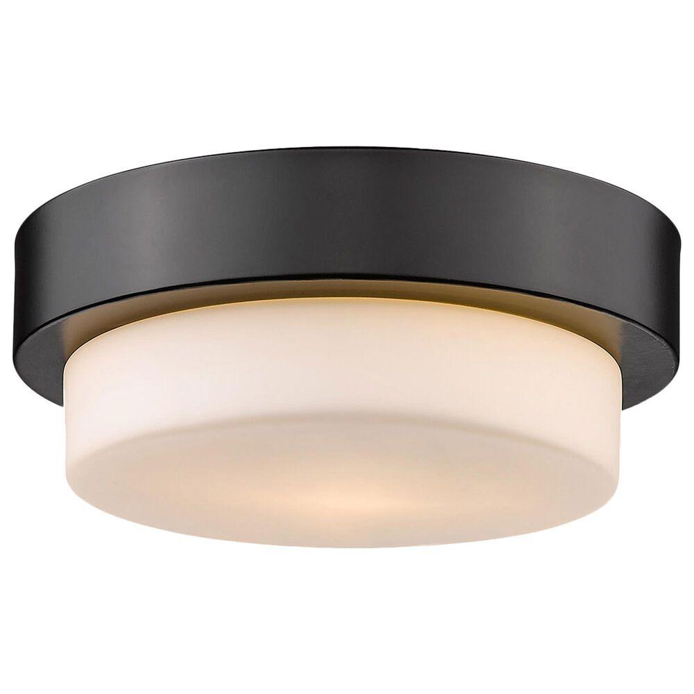 """Golden Lighting Multi-Family 8.5"""" Flush Mount in Matte Black, , large"""