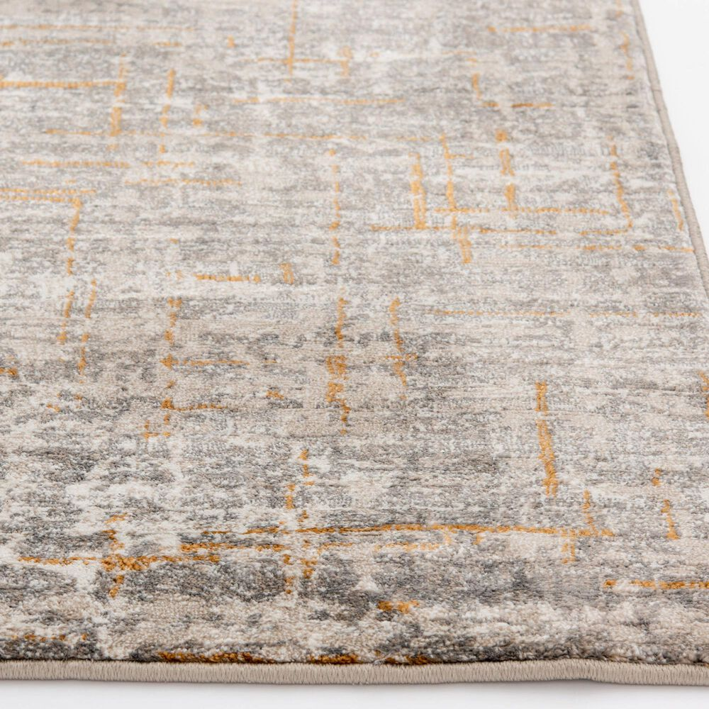 Central Oriental Adore Adrian 9274CEG 8' x 10' Cement and Greige Area Rug, , large