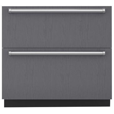 """Roth Distributing 36"""" Designer Refrigerator/Freezer Drawer with Combo Drawer, , large"""