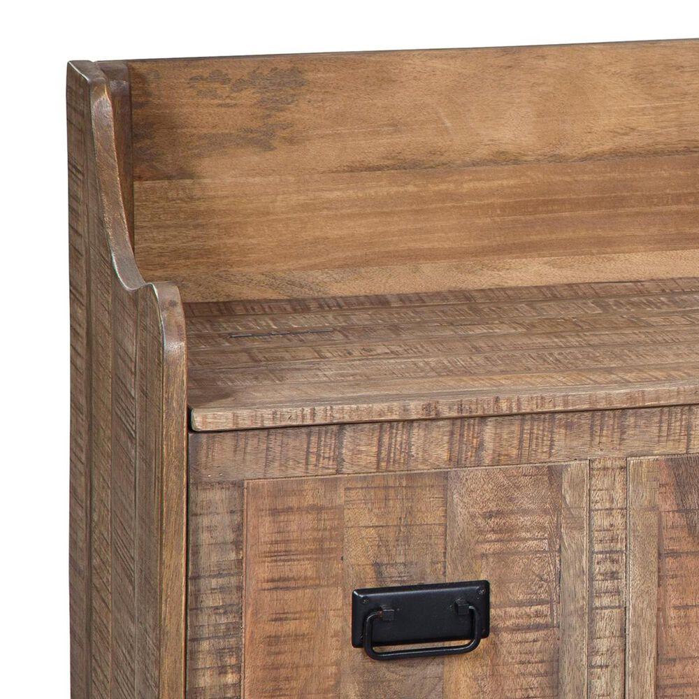 Signature Design by Ashley Garrettville Storage Bench in Brown, , large