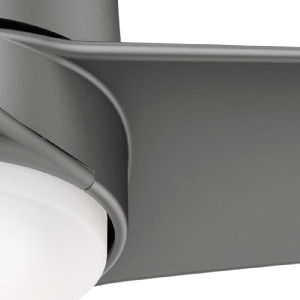 """Hunter Havoc 54"""" Outdoor LED Ceiling Fan with WeatherMax in Matte Silver, , large"""