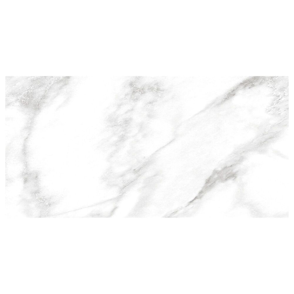 "Dal-Tile Perpetuo Brilliant White 12"" x 24"" Flat Satin Ceramic Wall Tile, , large"