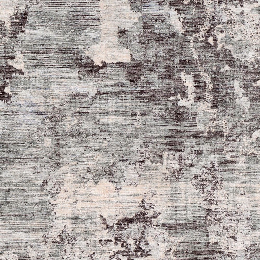 Surya Presidential PDT-2314 5' x 8' Blue, Gray and Ivory Area Rug, , large