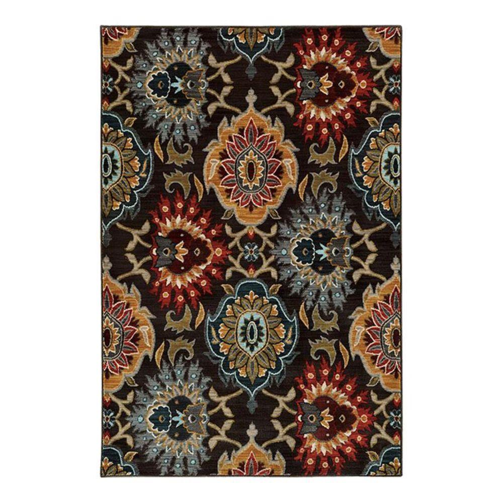 "Oriental Weavers Sedona 6369D 3'10"" x 5'5"" Charcoal Area Rug, , large"
