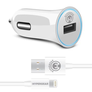 Hypergear Apple 2.4 Rapid Car Charger in White, , large