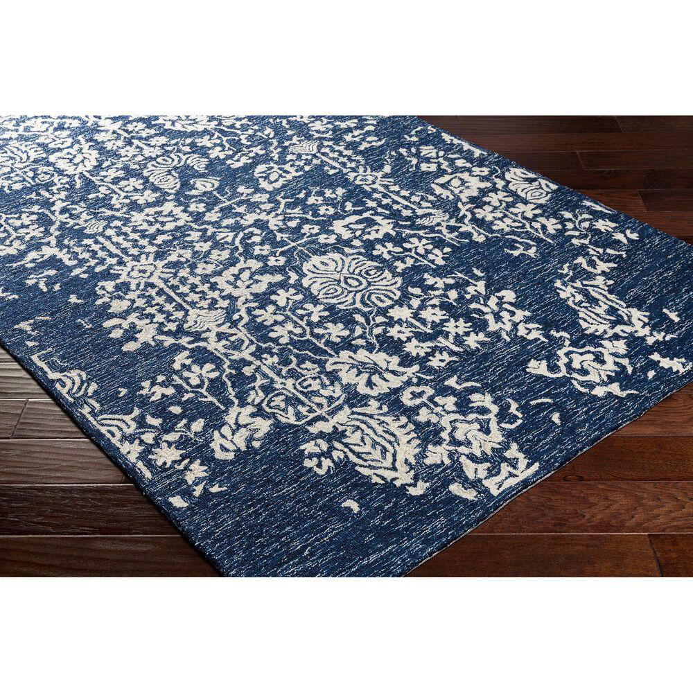 "Surya Granada GND-2311 5' x 7'6"" Dark Blue, Denim and Ivory Area Rug, , large"