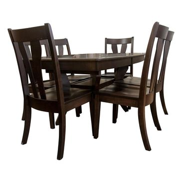 Fleming Furniture Co. Covina 7-Piece Dining Set in Chocolate, , large