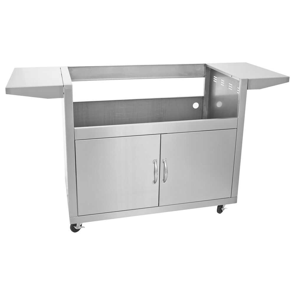 """Blaze 40"""" 5-Burner Grill Cart in Stainless Steel, , large"""