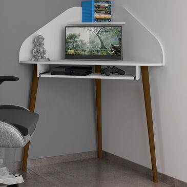 Dayton Bradley Corner Desk in White, , large