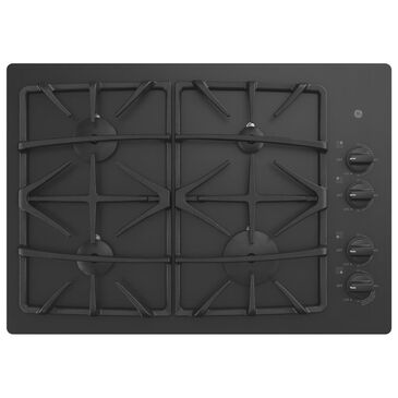 "GE Appliances 30"" Built-In Glass Gas Cooktop in Black, , large"