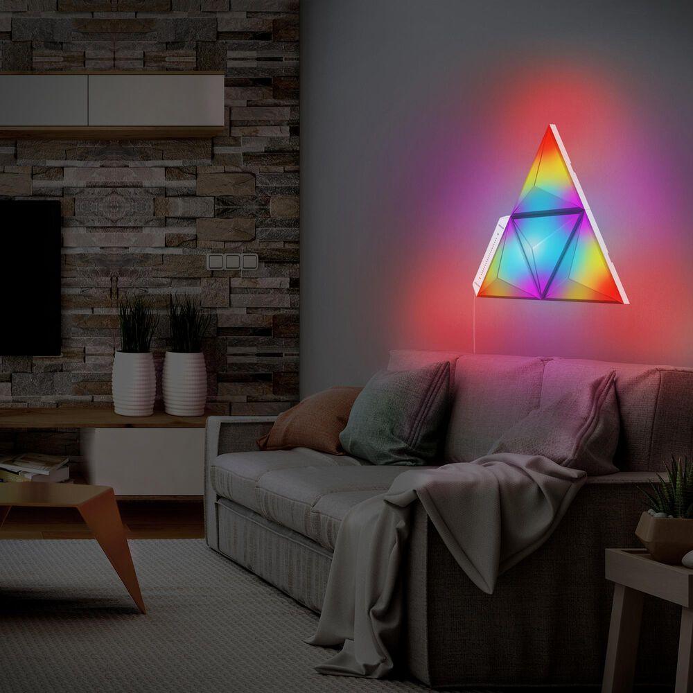 Monster Smart Illuminessence Prism Add-On Pack Smart Modular 3D LED Art Panels, , large