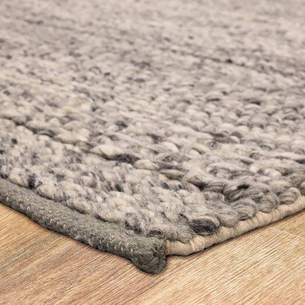 Karastan Tableau RG181-131 2' x 8' Umbra Grey Area Rug, , large