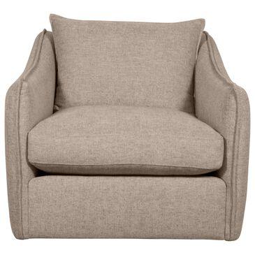Bernhardt Joli Swivel Chair in Tan, , large