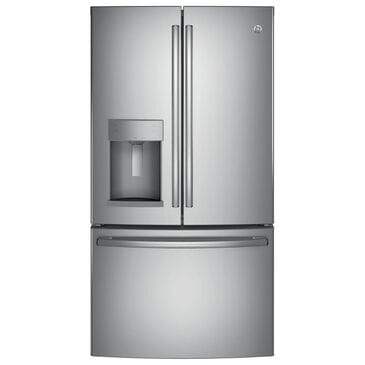 GE Appliances 27.8 Cu. Ft. French Door Refrigerator with Ice Maker and Door in Stainless Steel, , large