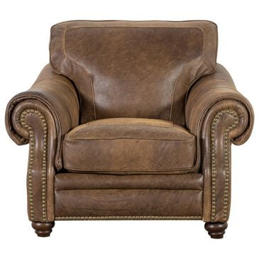 Softline Leather Chair in Vintage Tobacco, , large