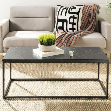 Safavieh Baize Coffee Table in Black, , large