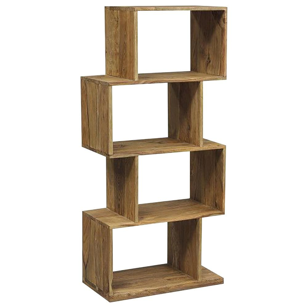 37B Urban 4-Shelf Bookcase in Natural, , large