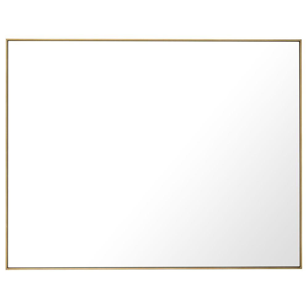 "Blue Sun Designs Redondo 55"" x 71"" Mirror in Brushed Brass, , large"