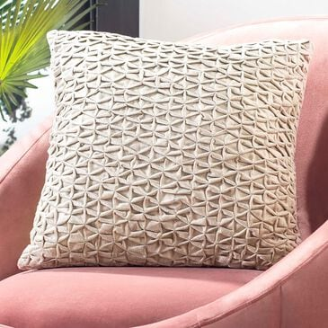 "Safavieh Harla 18"" x 18"" Pillow in Beige, , large"