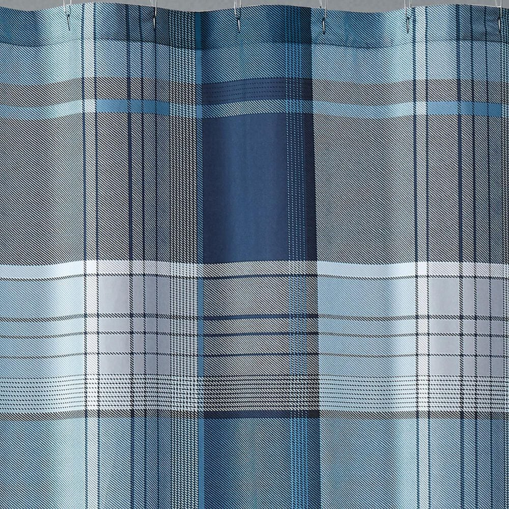 Pem America Truly Soft Trey Shower Curtain in Blue, , large