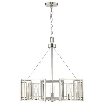 Golden Lighting Marco 5-Light Chandelier in Pewter, , large