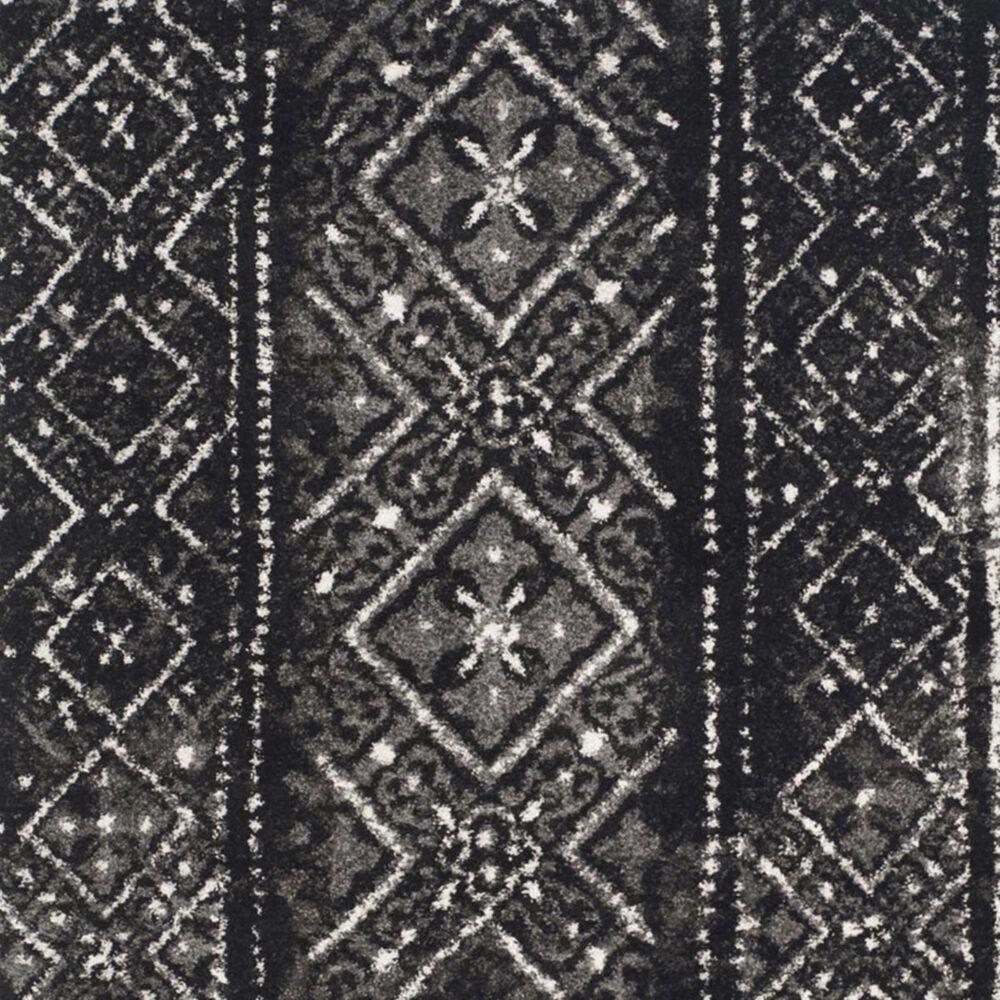 "Safavieh Adirondack ADR111C 5'1"" x 7'6"" Black and Silver Area Rug, , large"