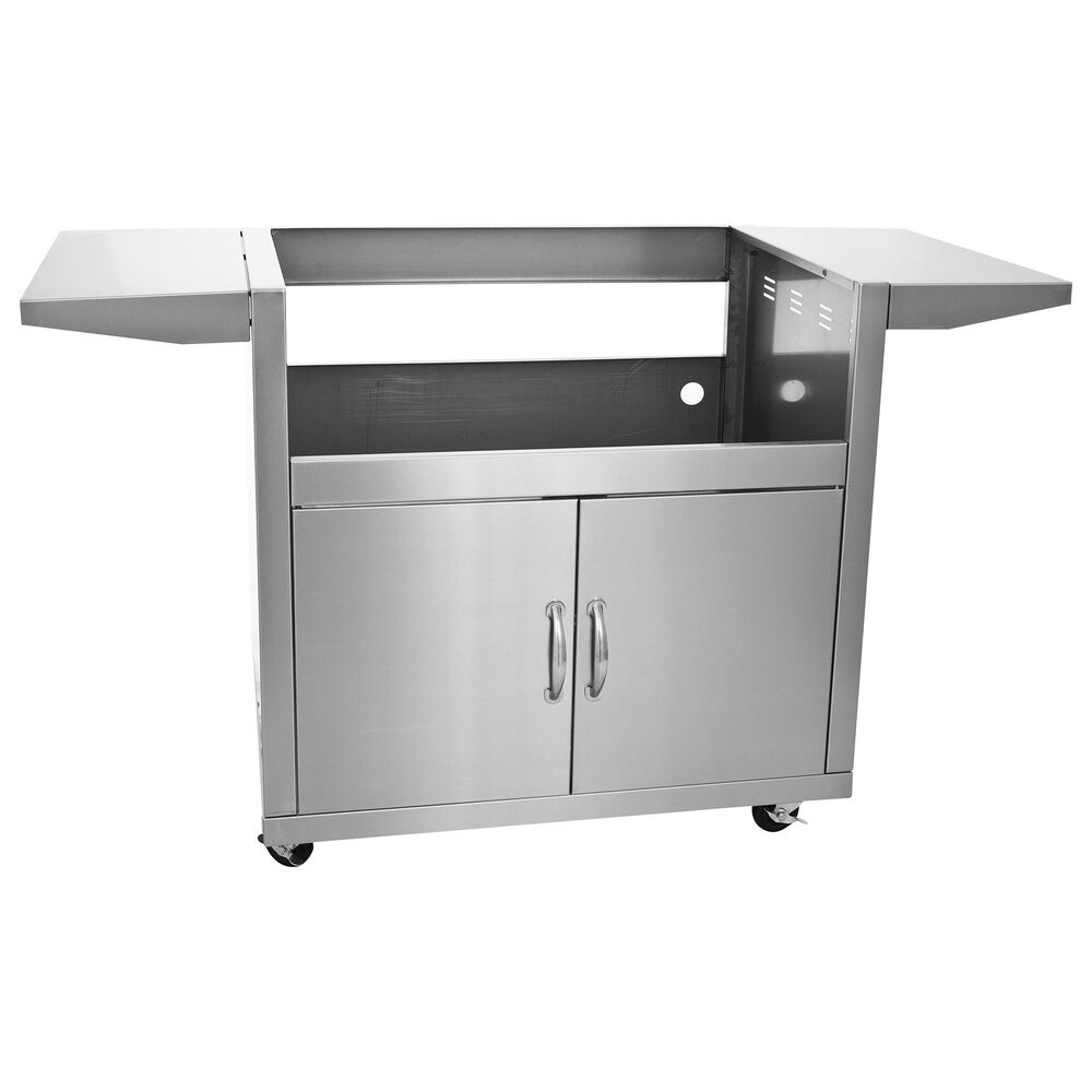 """Blaze 32"""" 4-Burner Grill Cart in Stainless Steel, , large"""