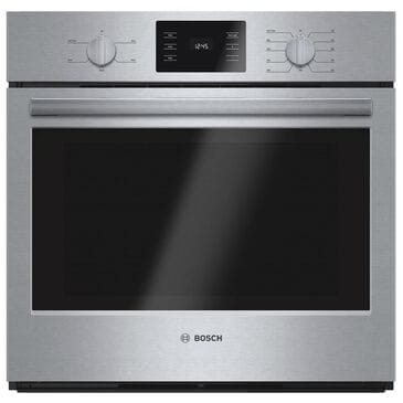 "Bosch 30"" Single Wall Oven in Stainless Steel, , large"