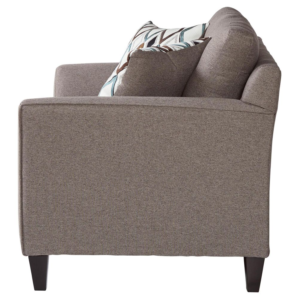 Hughes Furniture Wexler Loveseat in Flannel, , large