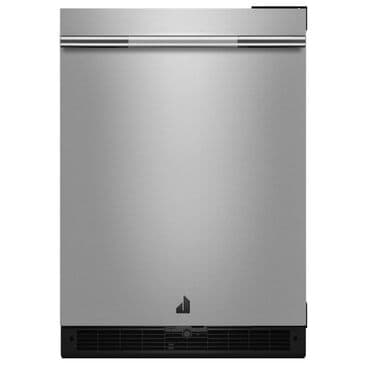 """Jenn-Air RISE 24"""" Under Counter Solid Door Refrigerator Left Swing in Stainless Steel, , large"""