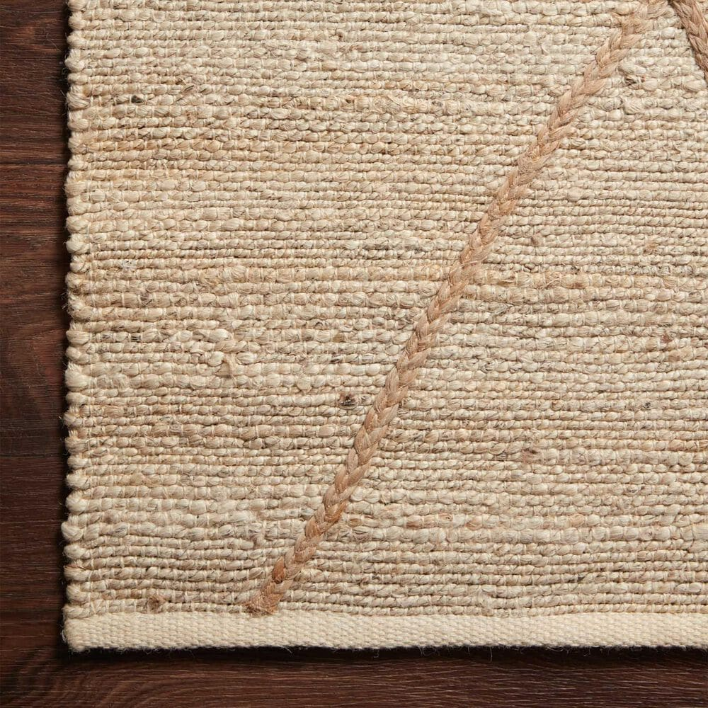 "Loloi II Bodhi  2'6"" x 7'6"" Ivory and Natural Runner, , large"