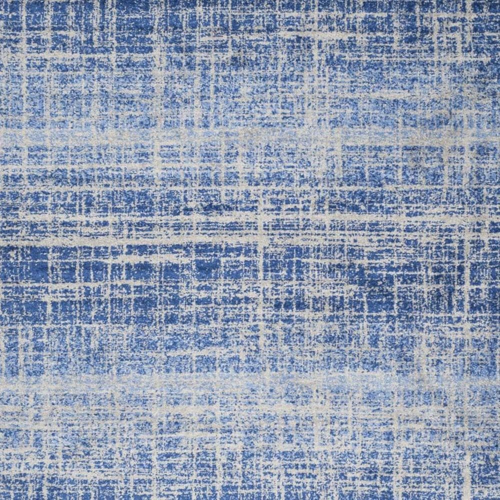 """Safavieh Adirondack ADR116D 2'6"""" x 10' Blue and Silver Runner, , large"""