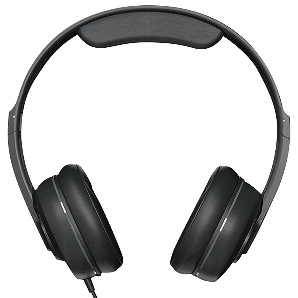Skullcandy Cassette Junior Volume-Limited Wired Headphones in Black, , large