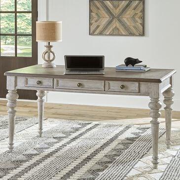 Belle Furnishings Heartland Writing Desk in White, , large