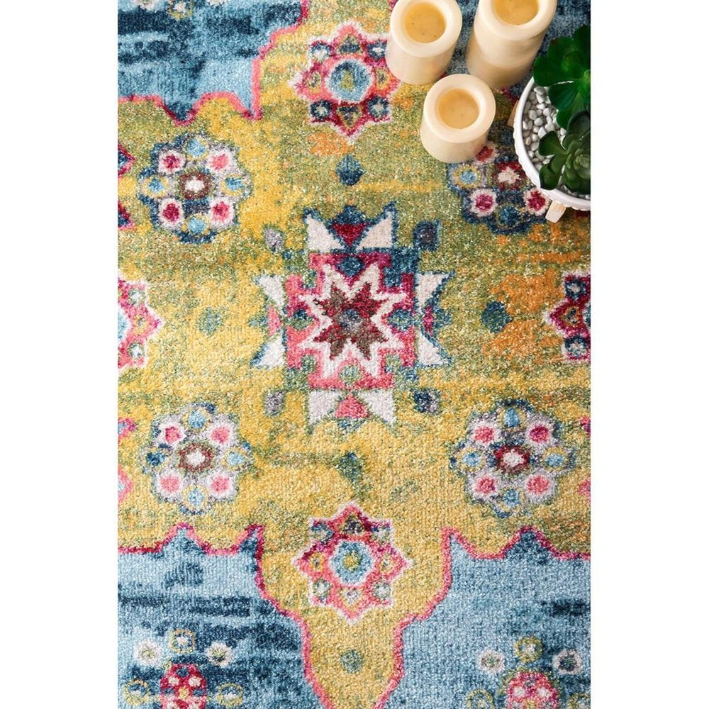 nuLOOM Valley MUVL05A 5' x 8' Blue Area Rug, , large