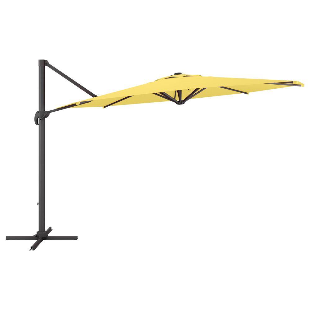 CorLiving 11.5' UV Resistant Deluxe Patio Umbrella in Yellow, , large