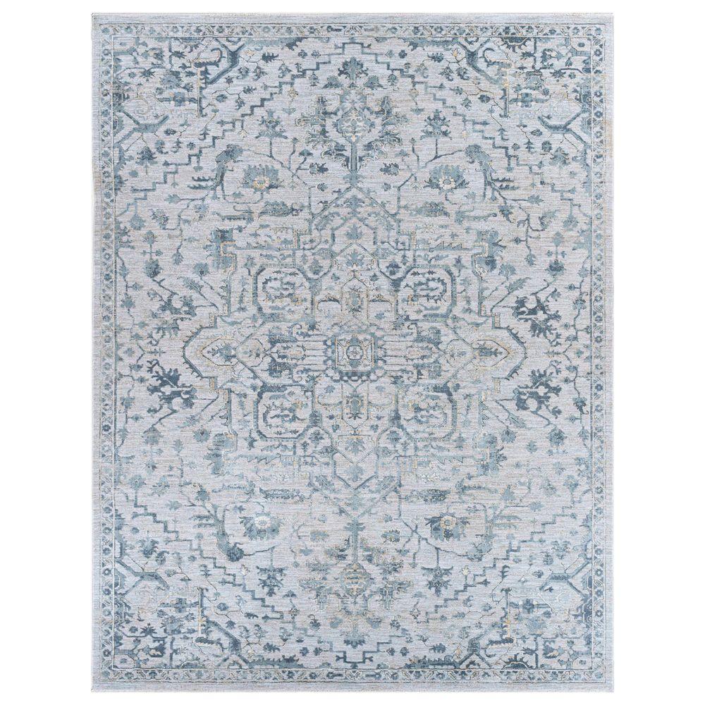 Surya Brunswick 12' x 15' Sage, Beige, Blue and Khaki Area Rug, , large