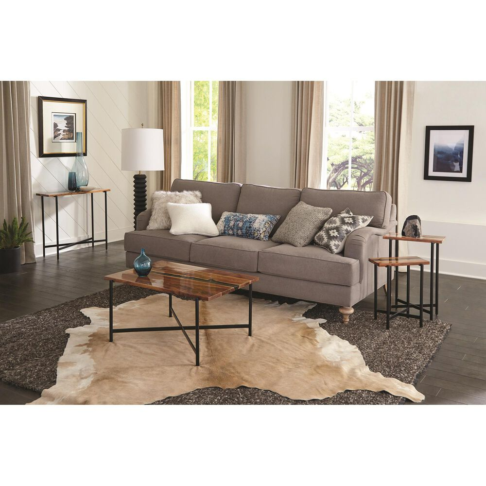 """Bolton Furniture Rivers Edge 36"""" Coffee Table in Brown, , large"""