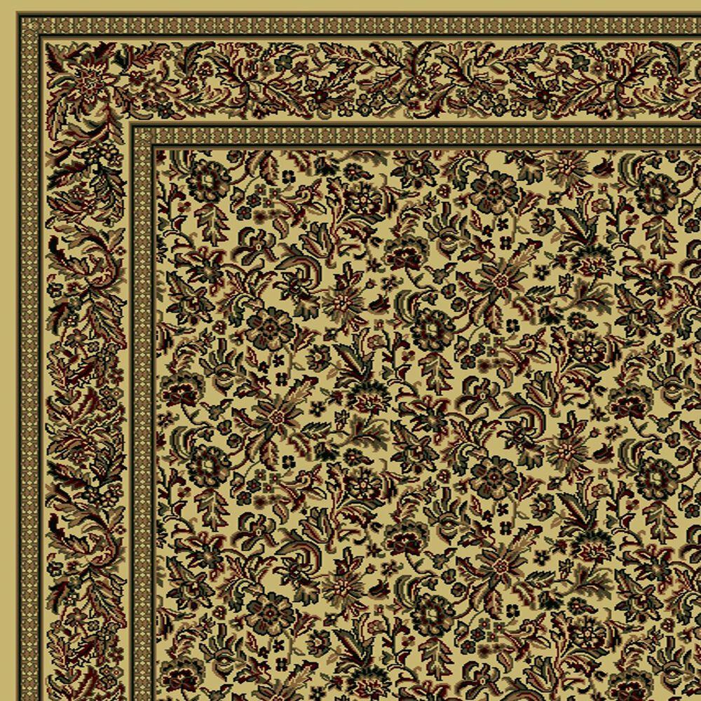 """Radici USA Castello 1219 5'5"""" x 7'7"""" Ivory Area Rug, , large"""