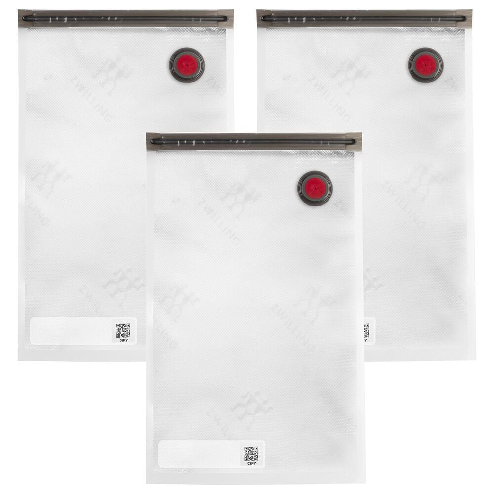 Zwilling 3-Piece Large Vacuum Bag Set in Clear, , large