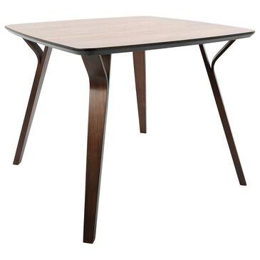 Lumisource Folia Dining Table in Walnut/Walnut, , large