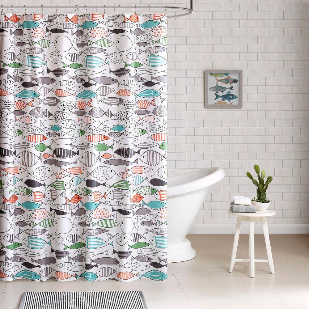 "Hampton Park Sardinia 72"" Shower Curtain, , large"