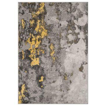 "Safavieh Adirondack ADR134H 10"" x 14"" Grey and Yellow Area Rug, , large"