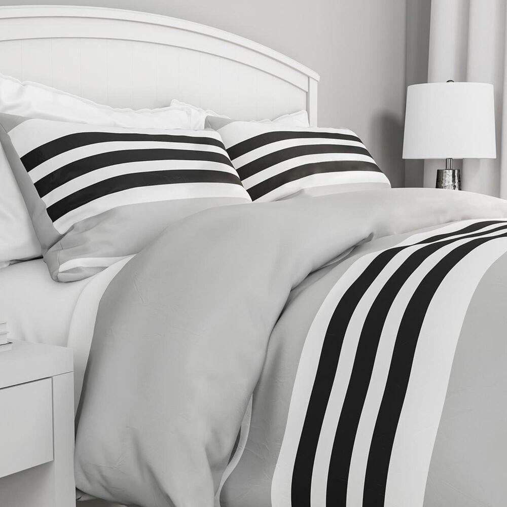 Timberlake Lavish Home 3-Piece King Seaside Comforter Set in Soft Gray, , large