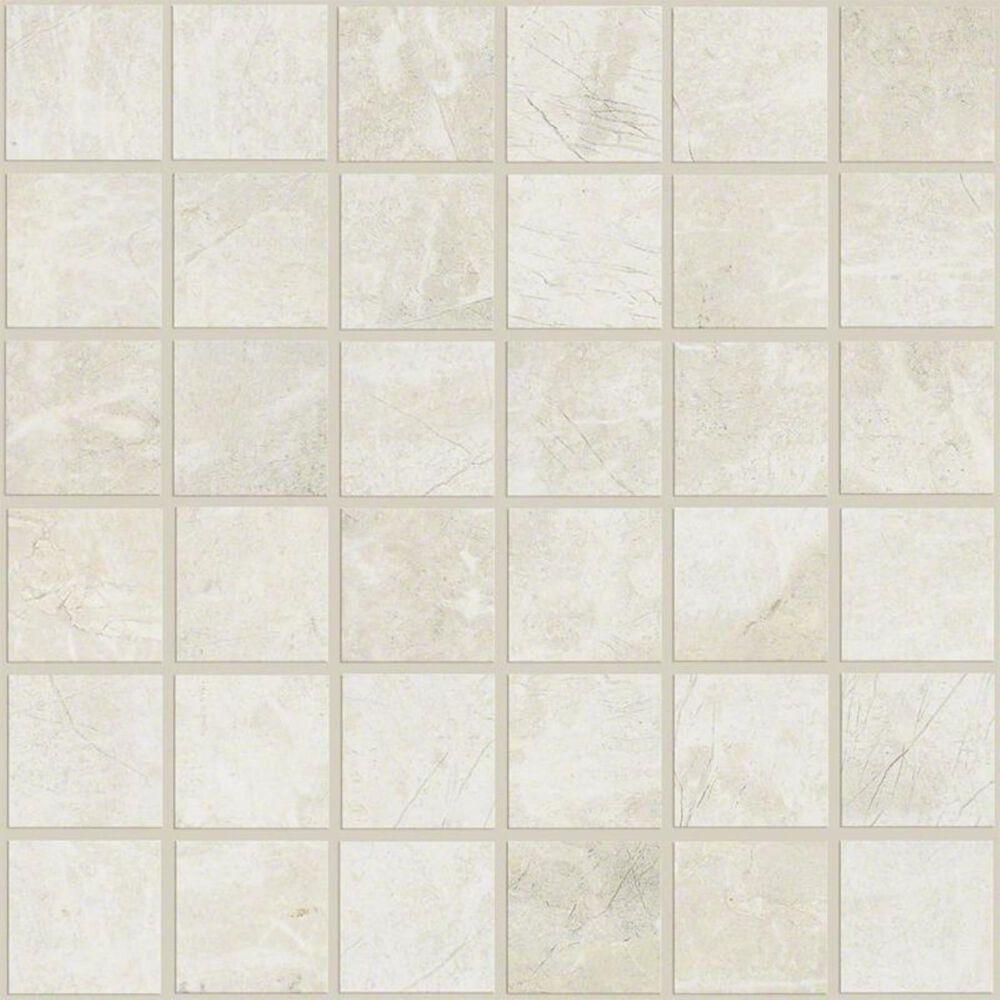 """Shaw Zenith Ivory 13""""x13"""" Mosaic Tile, , large"""