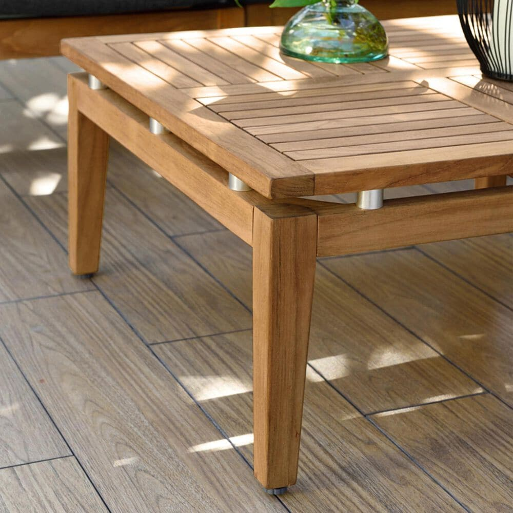 Blue River Arno Patio Coffee Table in Teak, , large